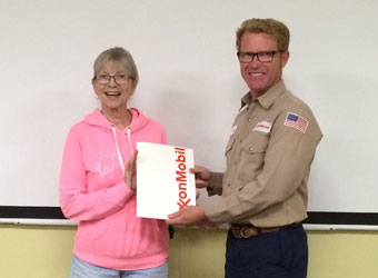 Exxon donation to Friends of Madrona Marsh for education